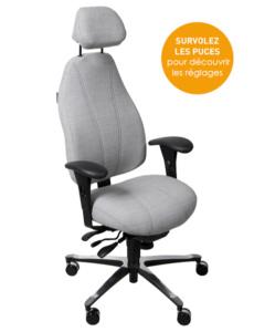Siège ergonomique de bureau T4000
