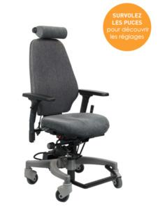 Siège ergonomique Tilto - Emploi et handicap