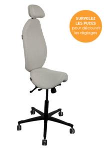Siège assis-debout High 5 - Alterner les positions de travail