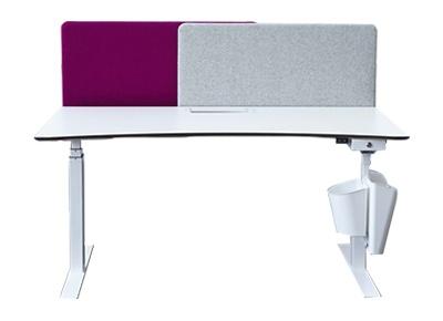 Cloison acoustique A30 Slide - Solution acoustique pour les postes de travail