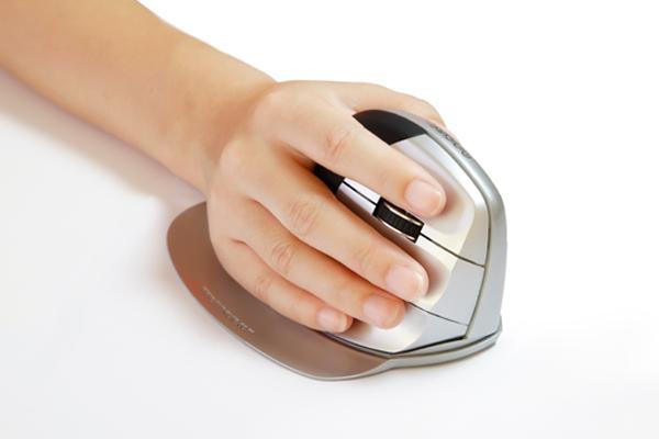 Souris ergonomique verticale EZ Mouse sans fil