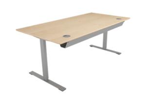 Bureau avec hauteur réglable pour travailler assis et debout - Alterner les postures