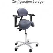 Siège ergonomique assis-debout - Jumper - Azergo