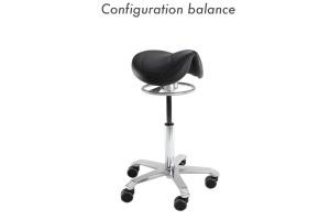 Siège ergonomique assis-debout - configuration balance - Azergo