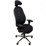 Siège ergonomique contre le mal de dos et TMS grâce à son dossier réglable - Azergo