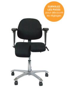 Siège ergonomique 2300 arthrodèse - Douleurs des jambes et hanches