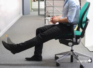 Comment étirer ses jambesau bureau
