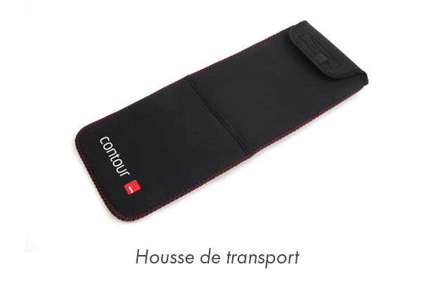 Housse de transport pour RollerMouse - Pointeur central pour travailler sur ordinateur sans douleur
