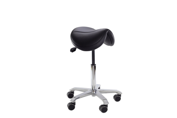 Chaise assis-debout Jumper pour une assise dynamique - Travailler en position active sans douleurs au jambes ou au dos