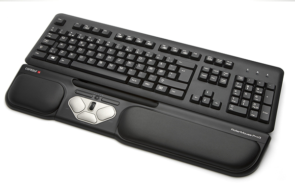 Pointeur central RollerMouse Pro 3 - Clavier - Azergo
