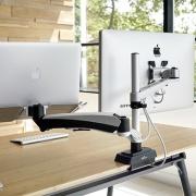 Bras Support ecran Dual - Support Ecran Apple - Travail sur écran