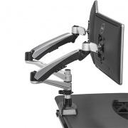 Bras Support Ecran Dual - Bien aménager son poste de travail sur ordinateur
