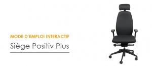 Mode d'emploi interactif - Siège ergonomique Positiv Plus