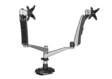 Bras support d'écran ergonomique Dual - Prévention des risques liés au travail sur écran d'ordinateur