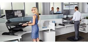 Améliorer sa productivité avec un bureau électrique assis-debout