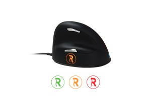 Souris ergonomique verticale R-GO Break - Ergonomie au poste de travail bureautique