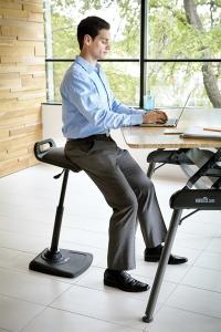 Pose-fesses ergonomique VariChair - Rester dynamique au bueau