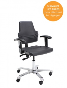 Siège ergonomique - Santé et confort au travail