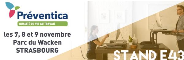 Salon Préventica - Santé au travail