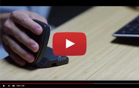 Souris ergonomique pour ordinateur Unimouse - Limiter les douleurs du poignet