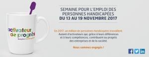 Semaine pour l'emploi des personnes handicapées - Handicap au travail