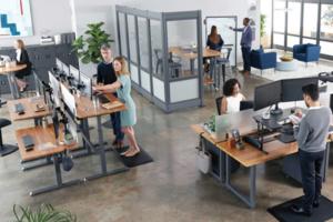 Tapis de sol ergonomique The Mat - Travail debout confortable - Sans douleurs au dos, genoux ou hanches