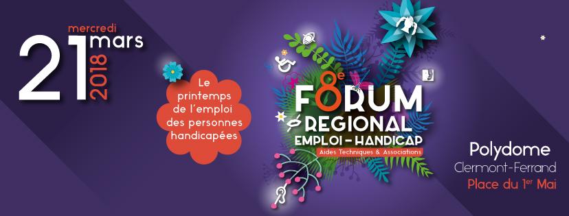 Forum Emploi-Handicap Auvergne-Rhône-Alpes