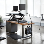 Plateforme Exec 40 - Travailler debout facilement sur un bureau existant
