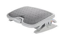 Utilisation d'un repose-pieds ergonomique au bureau
