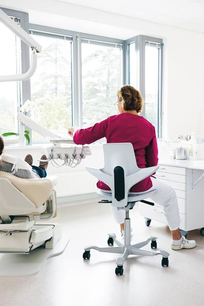 Siège Capisco Puls - Travail assis-debout - Professionnels de la santé