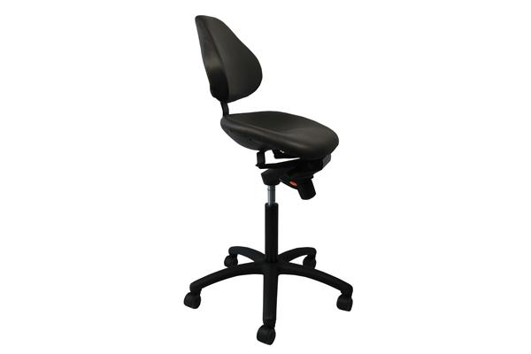 Fauteuil ergonomique Semisitting pour travailler assis-debout