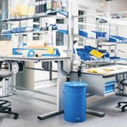 Chaise de bureau robuste pour l'industrie