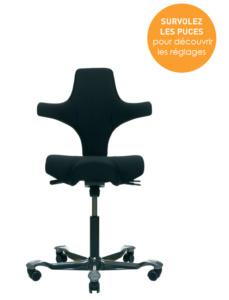 Comment bien régler son siège Capisco ? Mode d'emploi interactif Azergo