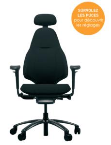 Régler son siège de bureau Mereo 220 pour garantir son confort au bureau