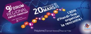 Forum régional Emploi-Handicap 2019 à Clermont-Ferrand