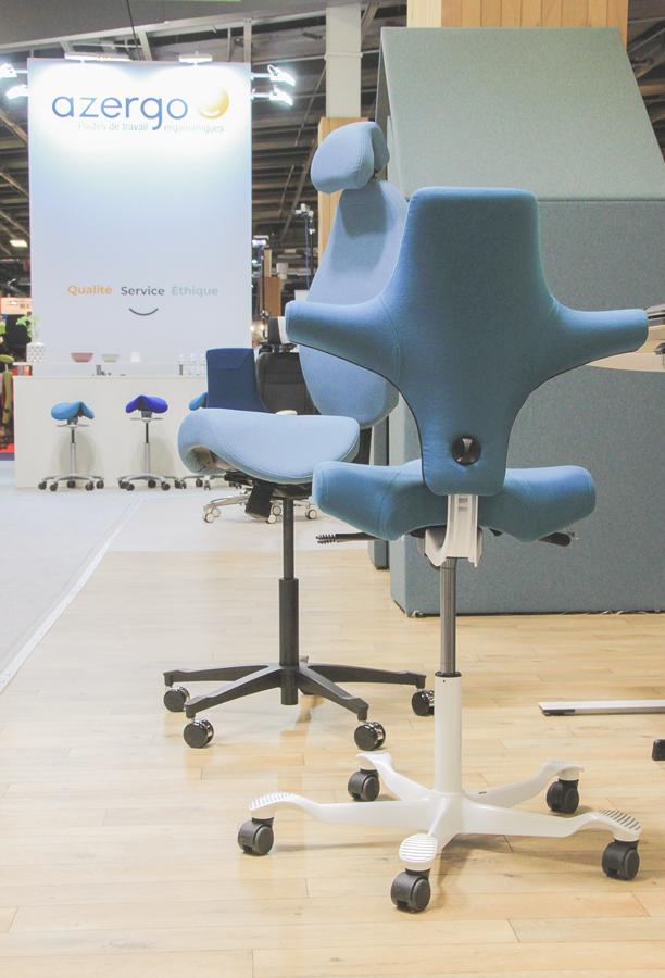 Sièges High 5 et Capisco - Améliorer le confort au travail avec l'alternance de postures