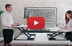 Plateforme Oploft- Travail assis-debout en flex office