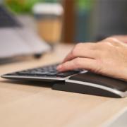 Support de paume - Travail sur ordinateur