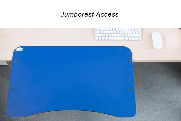 Repose-bras ergonomique Jumborest Access pour ordinateur - Agrandir le plan de travail