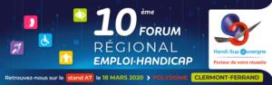 Forum Emploi-Handicap - Clermont-Ferrand - Auvergne