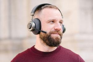 Casque anti-bruit sélectif - Bruit au travail - Concentration en télétravail