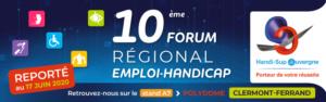 Forum Emploi-Handicap - Clermont-Ferrand - 17 juin 2020