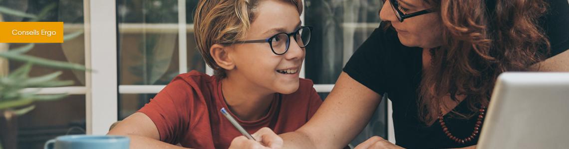 Ecole à la maison : Adapter le mobilier pour un meilleur confort