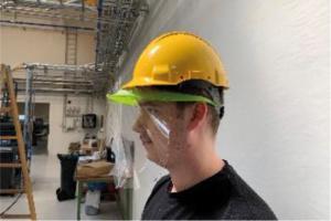Visière de protection individuelle lavable - Norme CE - COVID-19