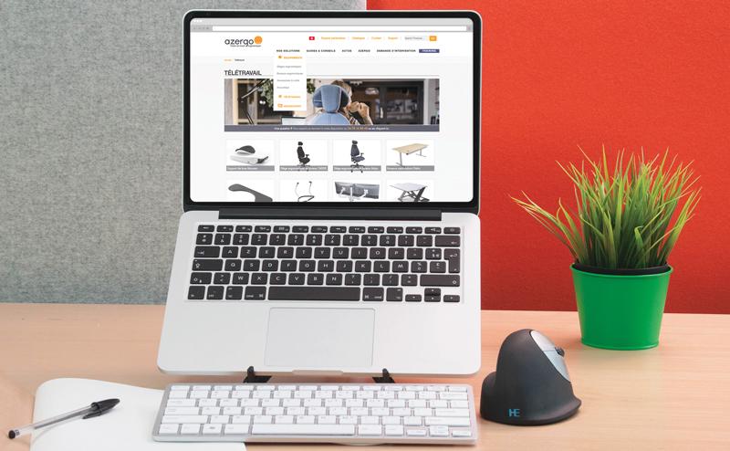 Rubrique Télétravail - Des outils pour travailler sans douleurs à la maison
