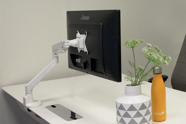 Positionnement de l'écran et douleurs cervicales - bras Vibe