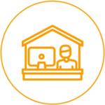 Mise en place télétravail - Accompagnement au domicile - Travail à la maison - Aménagement poste