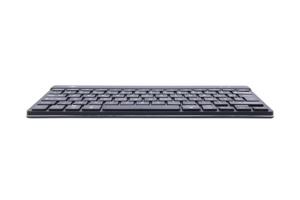 Clavier ergonomique R-Go Break - Clavier fin avec touches confortables - Compact pour zones de travail étroites