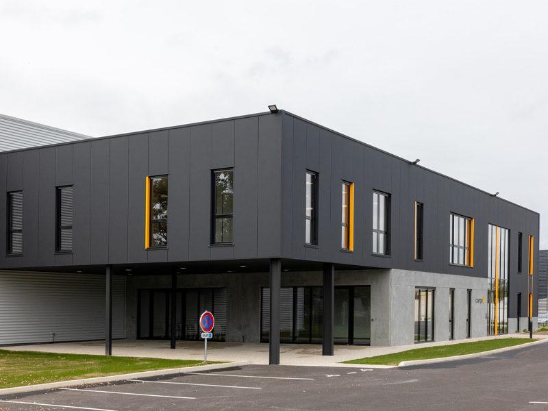 Vue extérieure - Siège social société Azergo à Vourles - Lyon - Rhône-Alpes