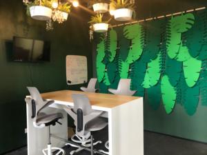 Salle de réunion Jungle - Siège social société Azergo à Vourles - Lyon - Rhône-Alpes